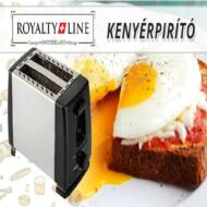 Royalty Line Toaster kenyérpirító fém burkolatú