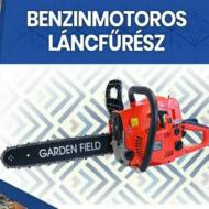 Gardenfield benzinmotoros láncfűrész