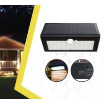 Solar Motion Light napelemes LED vízálló kültéri fali lámpa