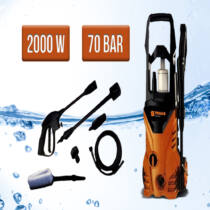 Straus magasnyomású mosó 2000W ST/HP2000-10 2000W