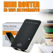 Mini router wifi jeltovábbító