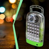 Szuper fényes hordozható led lámpa