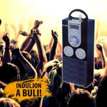 MP3 lejátszós hordozható rádió