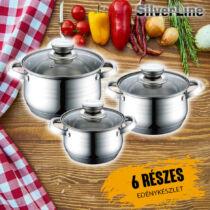 Silverline 6 részes edénykészlet SLV7082