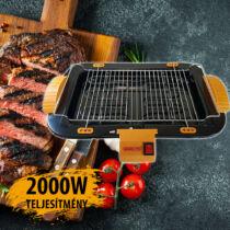 SwissLine elektromos grill 2000W SW2200W