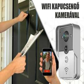 Wifi-s kapucsengő kamerával
