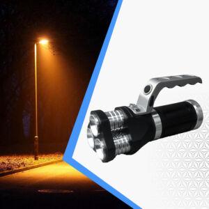 Multifunkciós  hordozható led lámpa