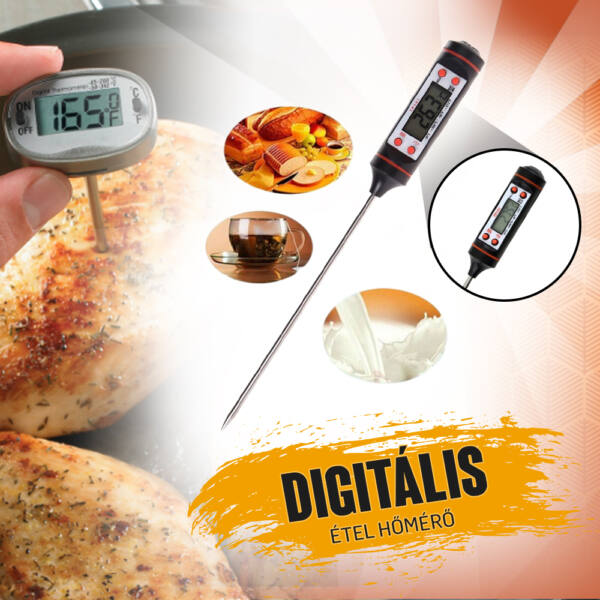Digitális étel hőmérő