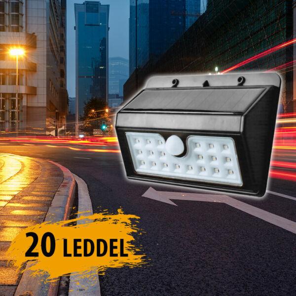 Napelemes, mozgásérzékelős lámpa XF6022