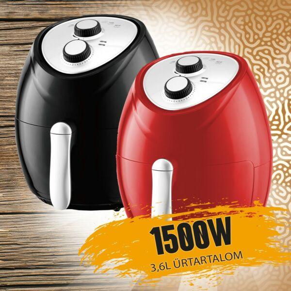 Zurrichberg Professional olaj nélküli fritőz 1500W ZBP/7616